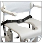 Swift Mobile Tilt - Safety Strap - Adjustable in length. Attachment with velcro straps.