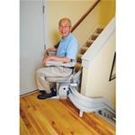 Stair Lifts - Bruno - Elite Custom Curve Stairlift CRE-2110